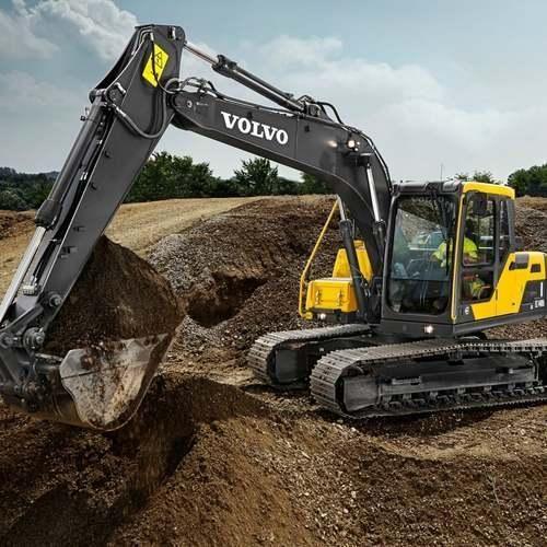 Volvo Medium Crawler Excavators EC140DL - Volvo Group India Private