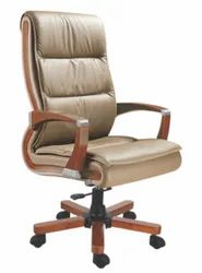 Durospace Light Shiny Brown DF-007 CEO Chair