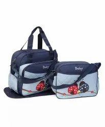 Offspring Outing Mama Shoulder Diaper Bag, Ladybug (Pack of 2)