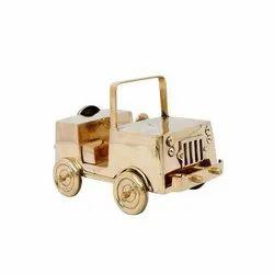 Brass Jeep Car