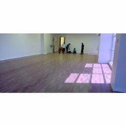 Brown Planks Designer PVC Flooring
