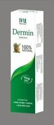 DERMIN Herbal skin care ointment, Grade Standard: Cosmetic Grade, Packaging Size: 20