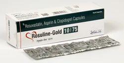 Rosuvastatin Calcium 10 mg Aspirin 75 mg Clopidogrel 75 mg Capsules