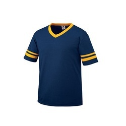 visions play Blue And Yellow Mens Sports T Shirt