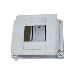 Single Door White MCB Box, For Electrical Fitting