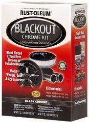 Automotive Spray Paints - Rust Oleum Automotive Blackout