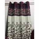 Floral Satin Modern Fancy Printed Door Curtain