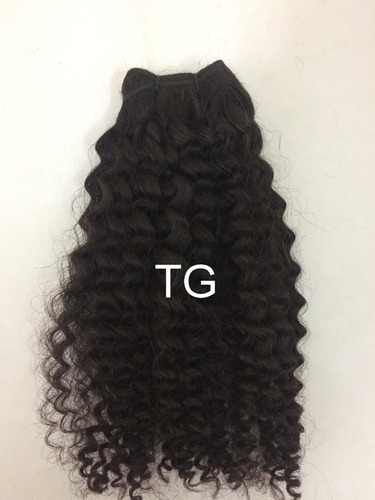 Tg Brown Temple Curly Hair Extensions 8 30 Inches Packaging Size 10 30 Rs 1600 Piece Id 14672611797