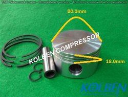 Bock F14 / FX14 / F16 / FX16 Piston Assembly