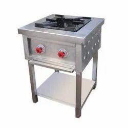 Laxmi Ss Single Burner Gas Range, for Restaurant