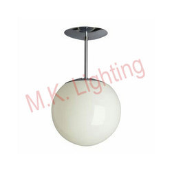 Glass Round Ball Pendant Light