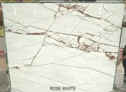 Rose White Marble