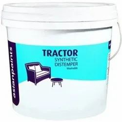 Liquid Asian Paint Tractor Synthetic Distemper, For Wall