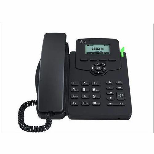 Black IP Phone : Aria AR50