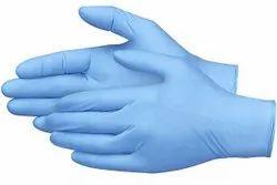 Imported 260 mm Nitrile Gloves, Size: Multiple Sizes