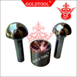 Gold Tool Extra Large Cupola Dapping Punch Set 3