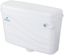 Idoos Plastic Side Handle Flushing Cistern (wave), For Toilet