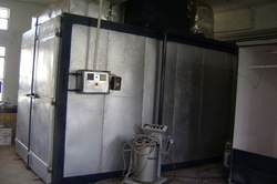 Gas Fired Industrial Ovens