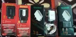 Mobile Charger Mobile Temper Glass