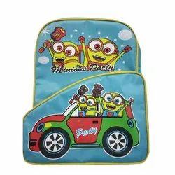 Skyhunt Polyester Designer Kids School Bag