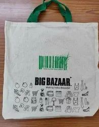 Cotton 2 Inches Cloth Grocery Shopping Bags, Capacity: 10 Kgs, Size/Dimension: 20 X 20 Inches