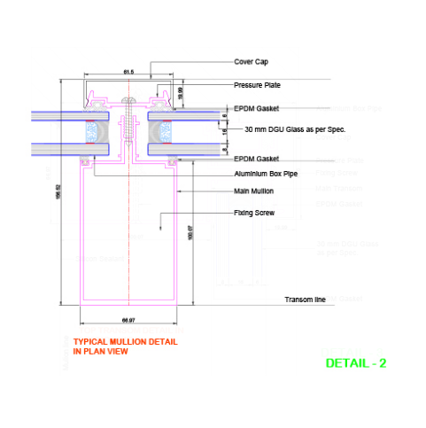 Curtain Wall - View Specifications & Details of Curtain