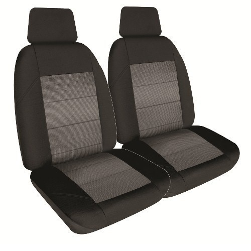 Black Charcoal Seat Cover