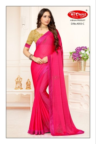 Party Wear Silk Kohinoor Sarees Catalog, 6.3 M (with Blouse Piece)