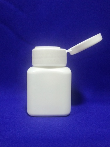 Square Shape Tablet Container