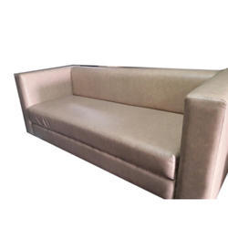 Plain Designer Leather Sofa