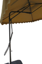Patio Umbrella-Side Pole-Pull Push-2.5M-Dark  Brown