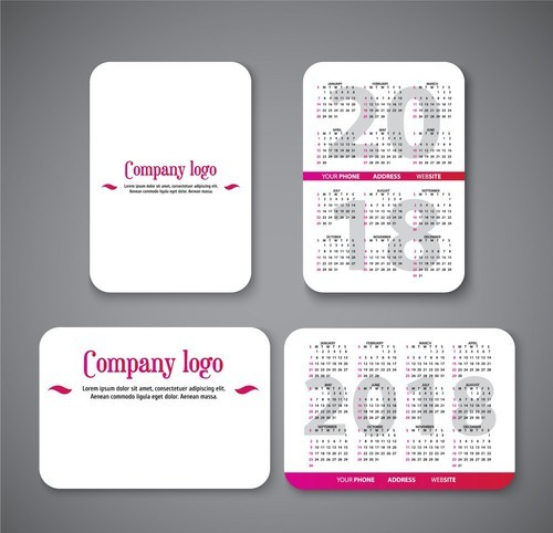 Pocket Calendar.Pocket Calendar Printing