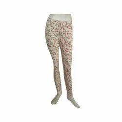 Cotton Lycra Ladies Printed Legging