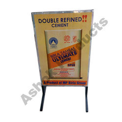 Promotional Board Tin Plate Stand