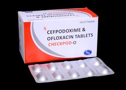 Cefpodoxim 200mg With Ofloxacin 200mg Tablets