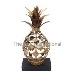 Pineapple Shape Decorative Sculpture