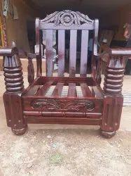 Wooden Sofa's