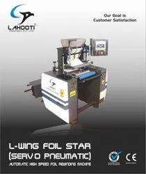 Automatic Aluminum Foil Rewinding Machine (Servo Pneumatic)
