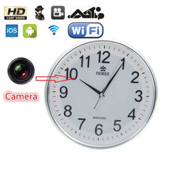 Spy Wall Clock Camera