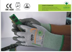 Anti Static Cut 3 Glove - Powerfit/ESD