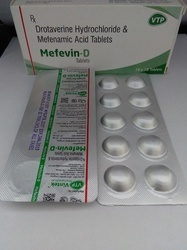 Mefenamic Acid 250mg Drotaverine HCL 80mg