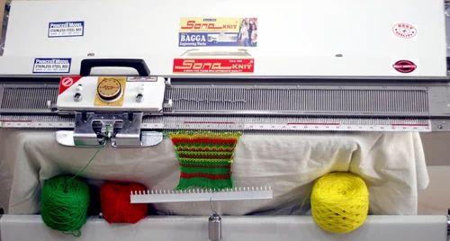 hand knitting machine