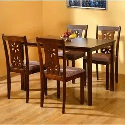 Dimensions: 48 X 36 X 30 Inch Teak Wood Wooden Dining Table