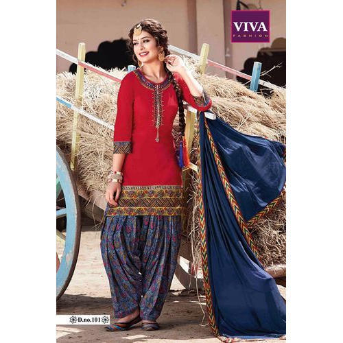 e0439a51985 Punjabi Patiala Salwar Kameez at Rs 1500  piece