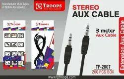 TP Troops 2007 3 Mtr Aux Cable