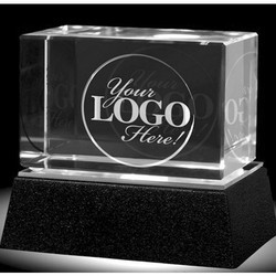 Rectangle Crystal Table Tops