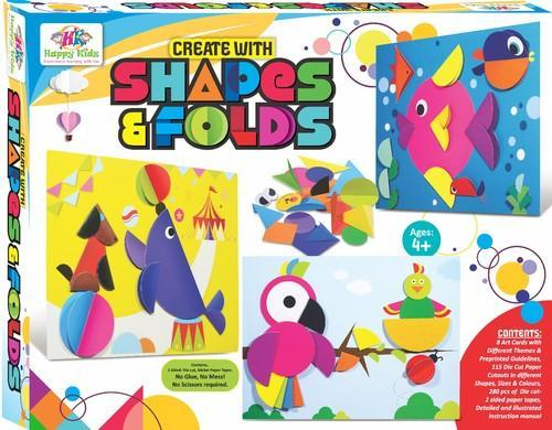 art craft toys create with shapes folds at rs 182 piece kids