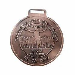 Copper Marathon Medal