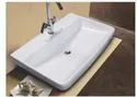 Mozio Italian Ceramic Opus Whb Table Top Wall Hung Basin, For Home, Model Name/number: O8700