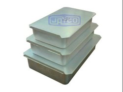 JAYCO Metal Sliding Lid Jewelry Box, for Packaging / Storage / Shipping